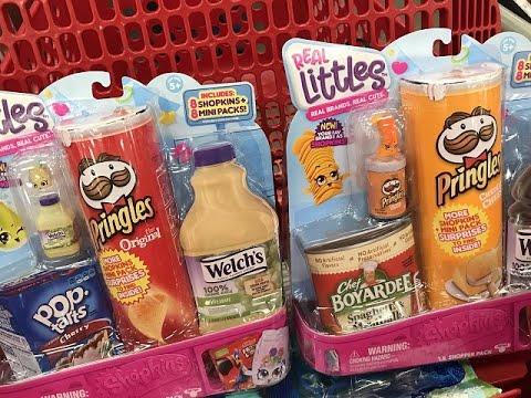 Real Littles, Real Brands Shopkins Blind Bag Toy Unboxing!