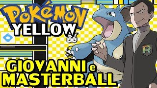 Pokémon Yellow (Detonado - Parte 11) - Giovanni, Gary e Masterball!