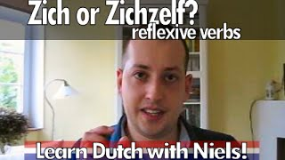 Learn Dutch: Using zich and zichzelf - with Niels!
