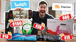 I Bought All The EXPRESS SHIPPING Items On Wish!!
