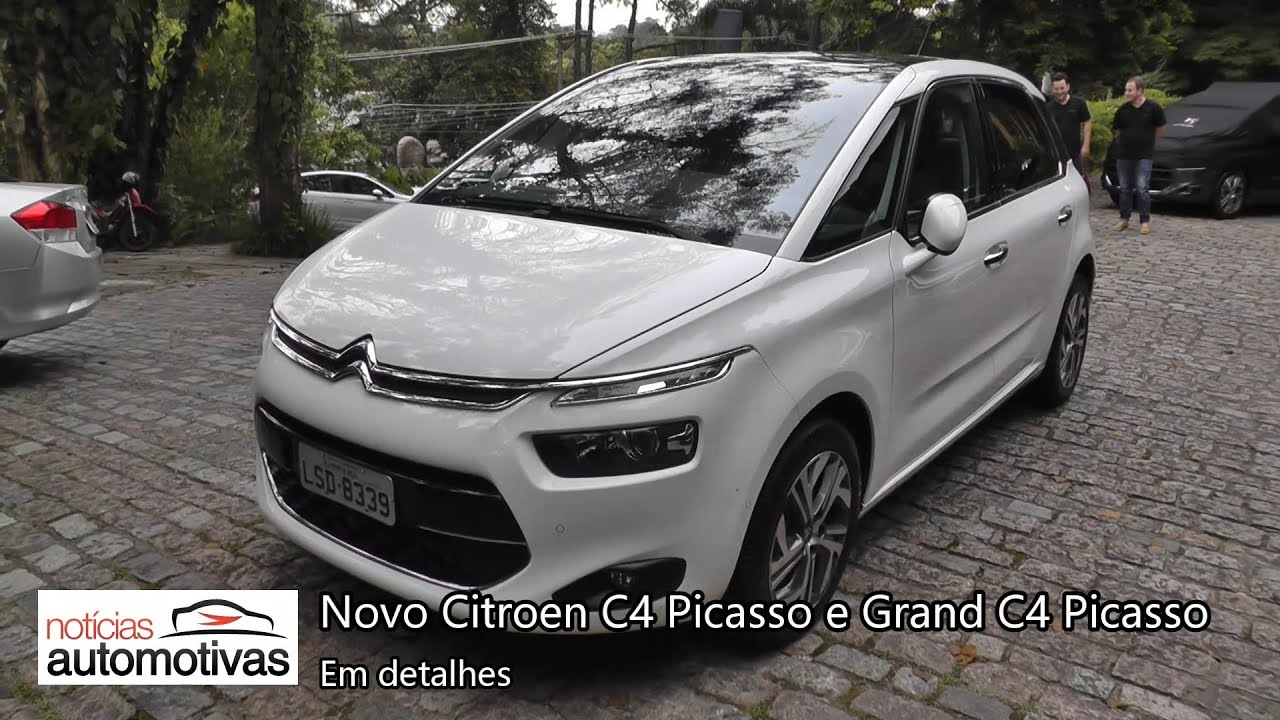 novo citroen c4 picasso e grand c4 picasso detalhes. Black Bedroom Furniture Sets. Home Design Ideas