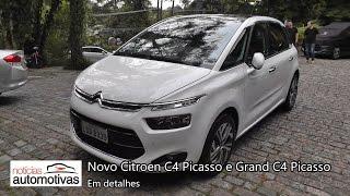 Novo Citroen C4 Picasso e Grand C4 Picasso - Detalhes - NoticiasAutomotivas.com.br