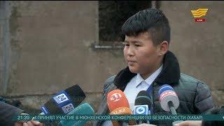 13-летний мальчик вынес из горящего дома двух малышей в Шымкенте