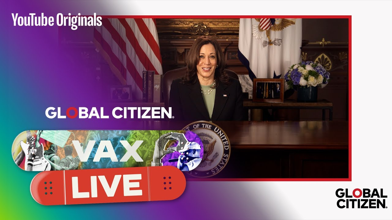 A message from Vice President of the U.S. Harris at VAX LIVE: The Concert to Reunite the World