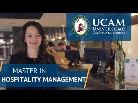 Master in Hospitality Management | UCAM Catholic University of Murcia