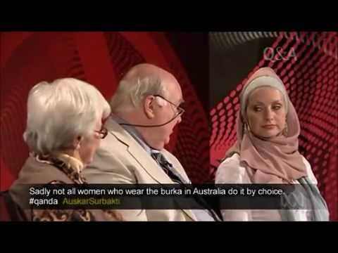 Susan Carland's view on the burqa ban in Australia on Qanda