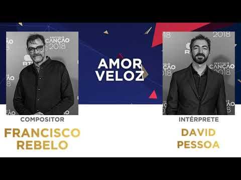 Amor Veloz (45'') - Francisco Rebelo | Festival da Canção 2018