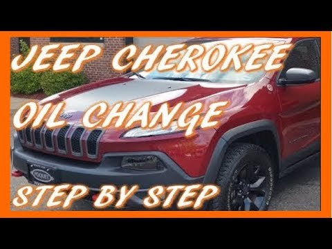 how to change oil in 2017 jeep cherokee trailhawk 3 2l v6 youtube. Black Bedroom Furniture Sets. Home Design Ideas