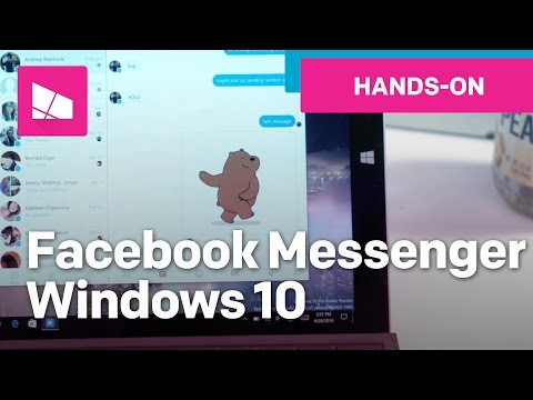 Facebook Messenger on Windows 10