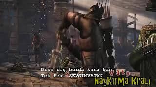 Mortal kombat animasyon dikkat igrenc