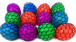 Best Learn Colors Squishy Mesh Ball Toys Color Changing | Bunny Bear Toys