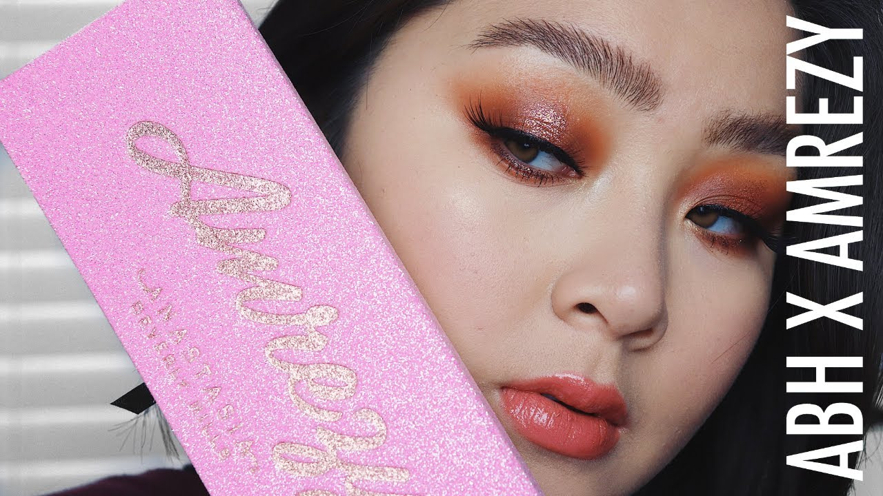 ABH x Amrezy Palette Overview + Tutorial - YouTube