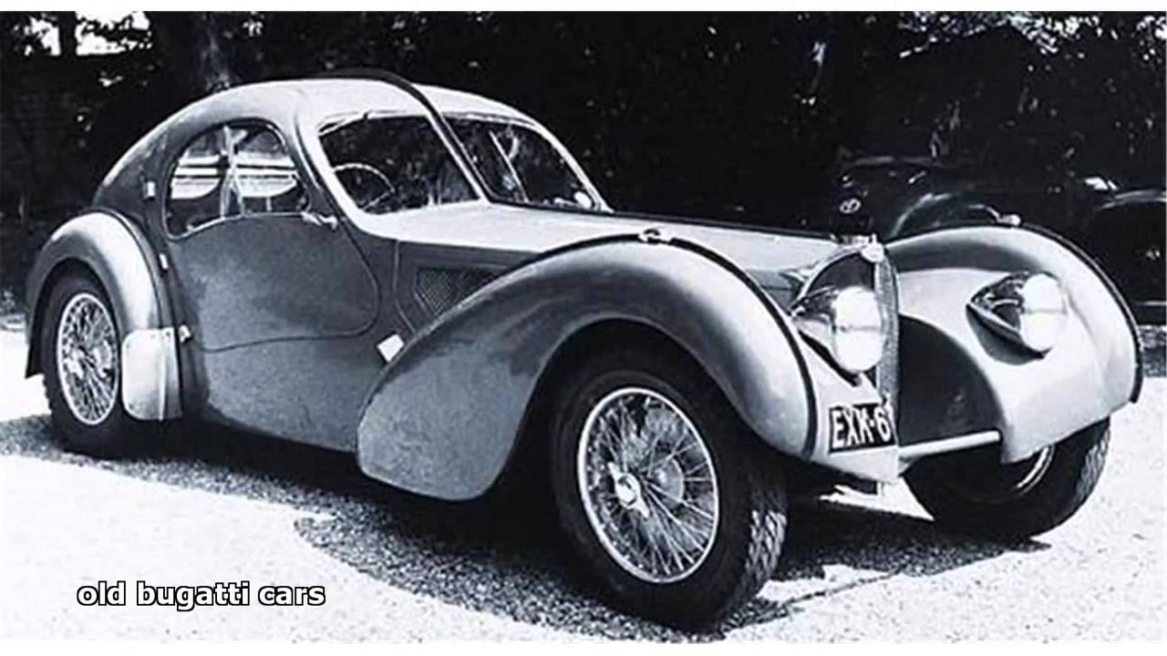Old Bugatti Cars Youtube