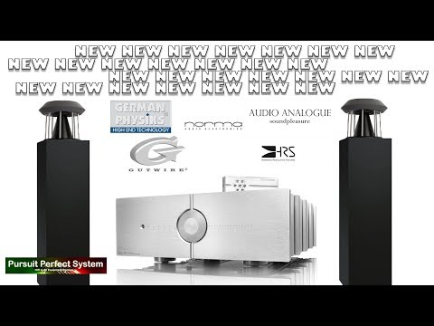 ALL NEW HIFI SYSTEM To REVIEW German Physiks Speakers Audio Analogue Gutwire Norma Audio HRS Intro