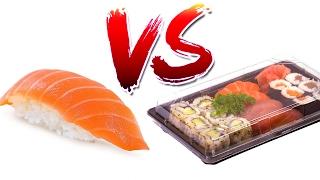 SUSHI - Ristorante vs. Supermercato