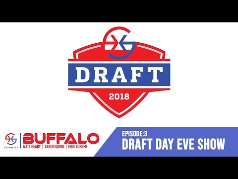Cover 1 | Buffalo: Episode #3 Draft Day Eve Show