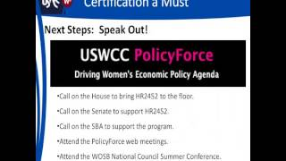 Women-owned Small Business (WOSB) Program Overview, History, and Certification Process