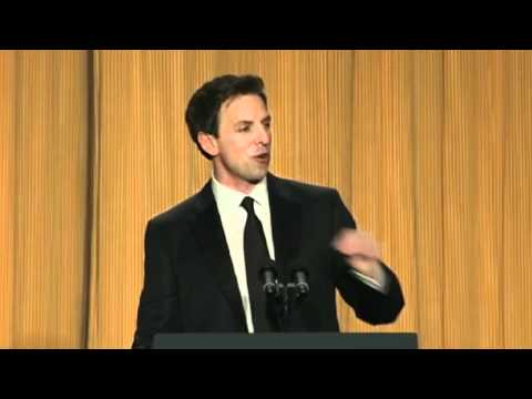 Seth Meyers Roasts Donald Trump - White House Correspondents Dinner 2011