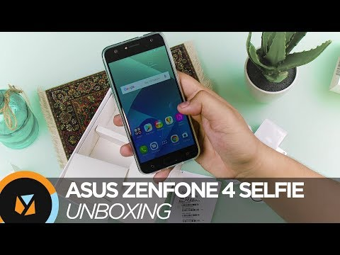 ASUS ZenFone 4 Selfie Unboxing and Hands On