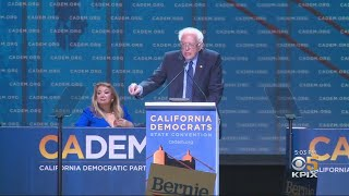 California Democratic Convention: Sanders Takes Shots At Biden...