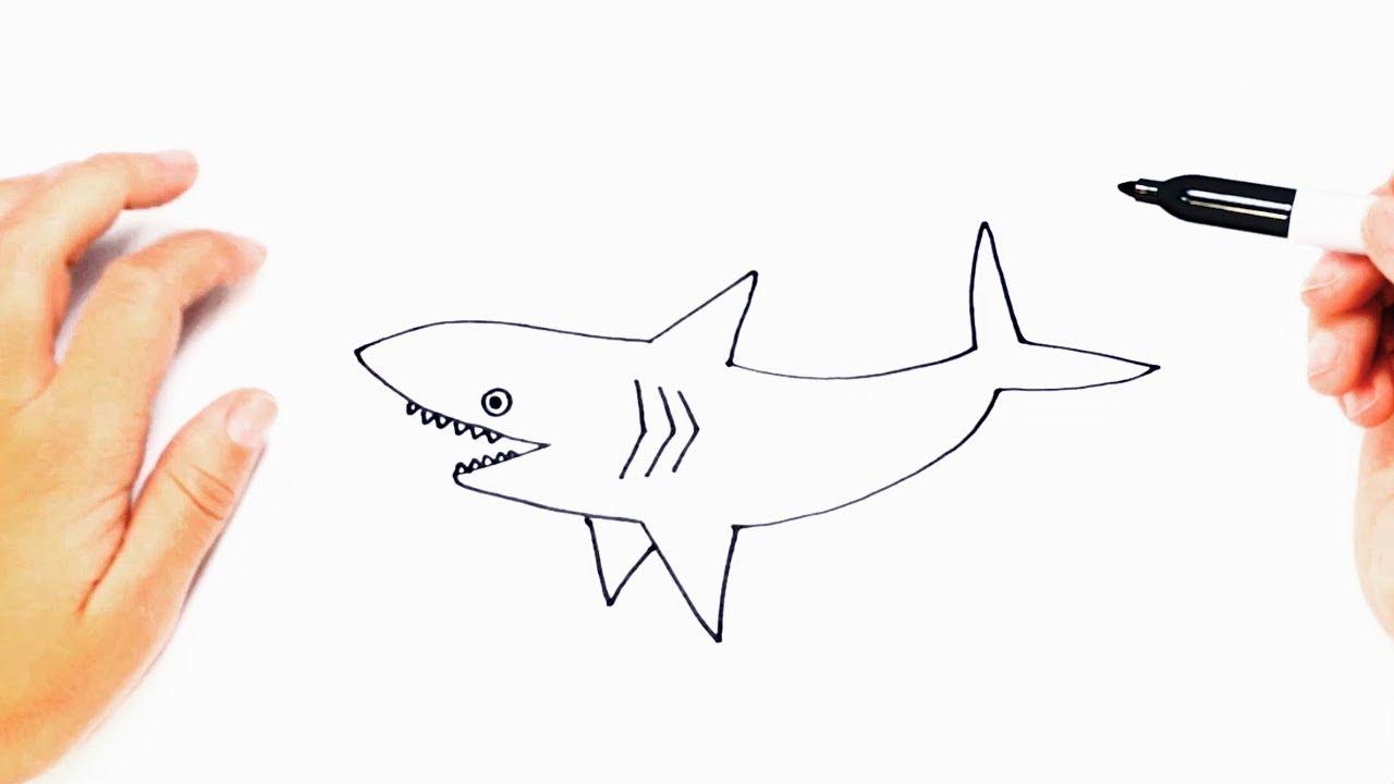Perfecto Tiburón Martillo Para Colorear Viñeta - Ideas Para Colorear ...
