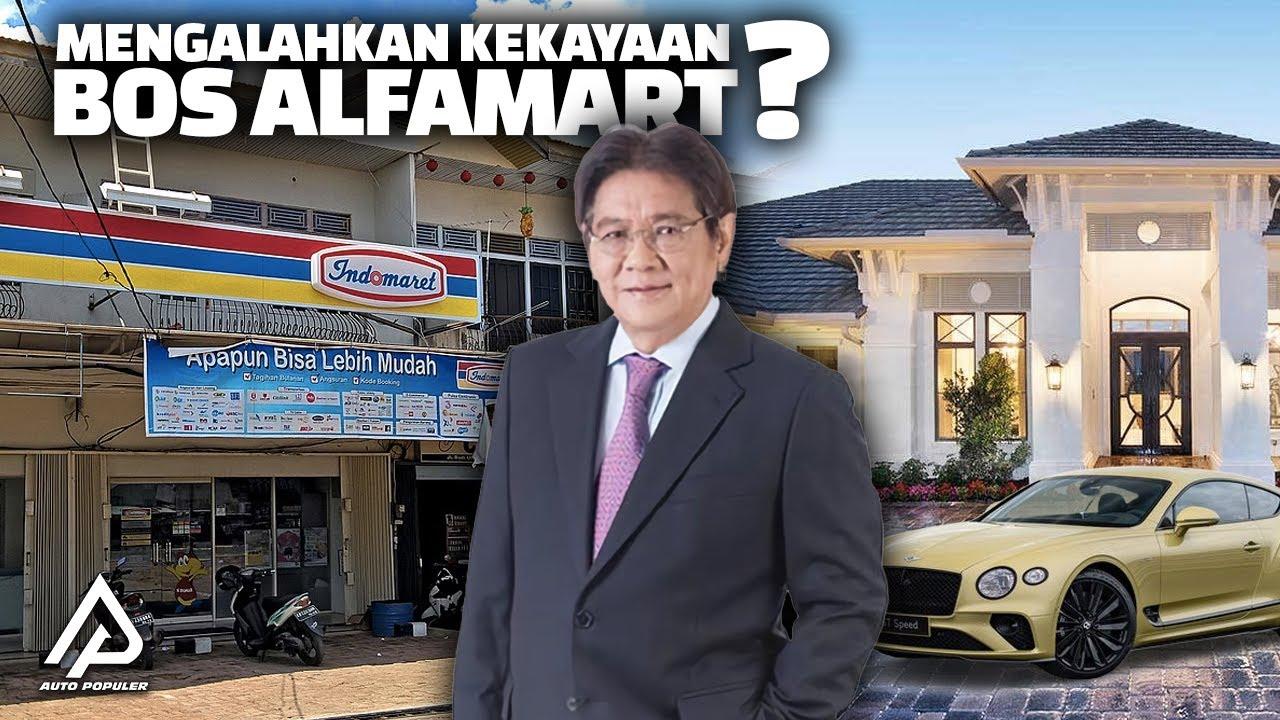 Gaya Hidup Bos Indomaret! Begini Koleksi Mobil Mewah dan Kekayaan Anthony Salim...