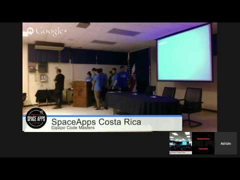 Clausura Space Apps Challenge Costa Rica 2015