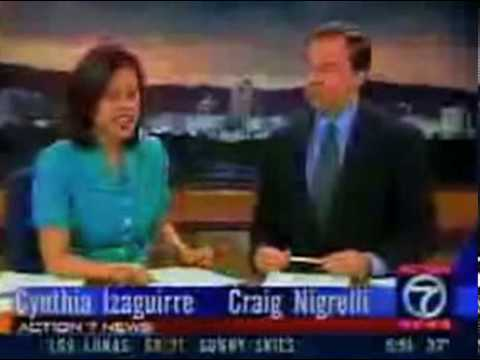 News Casting goes Funny Crazy