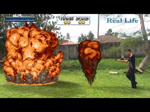 Metal Slug in Real Life