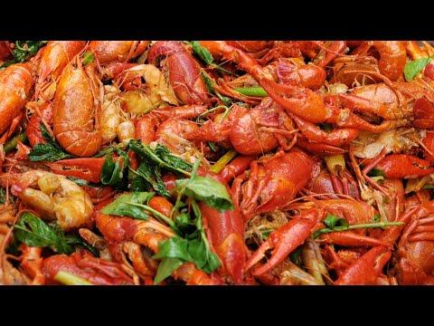 How To Make Crayfish N Shrimp Recipe Asian Way / Ua Cw Noj Qab Heev