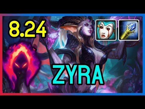 8.24 DARK HARVEST ZYRA SUPPORT - DIAMOND - League of Legends thumbnail