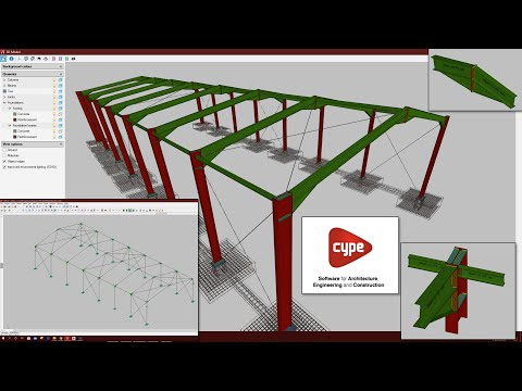 Design and Detailing of Steel Shed in Cype 2020