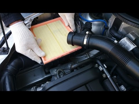 Opel Corsa - Air Filter Replacement