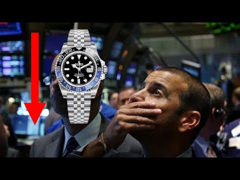 Proof That Rolex Prices Are Falling Via Sold Ebay Listings