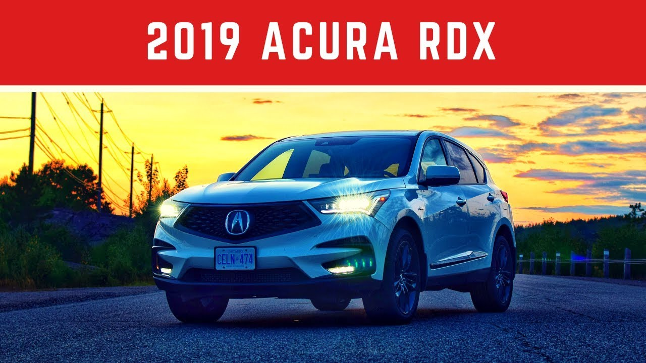 2019 Acura Rdx A Spec Test Drive Review Youtube