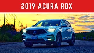2019 Acura RDX A-Spec Test Drive Review