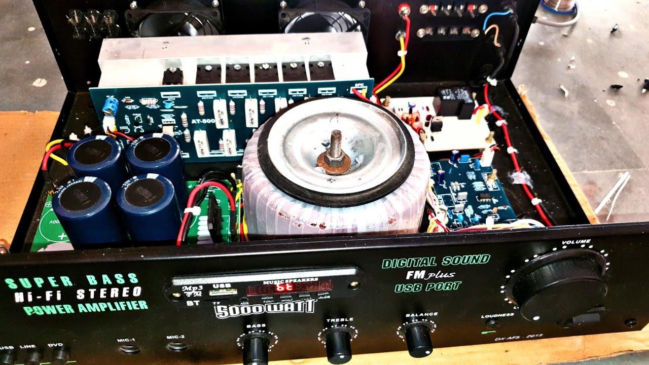 500 watt Amplifier 500w Mono Amplifier with speaker protection Amplifier connection