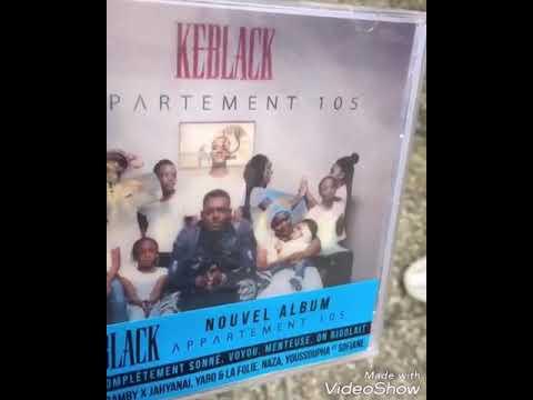 KEBLACK NOUVEL ALBUM APPARTEMENT 105