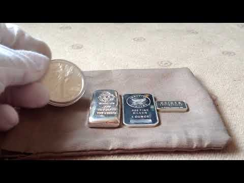Start collecting gold and silver by silverhunt  (few bars and coin)