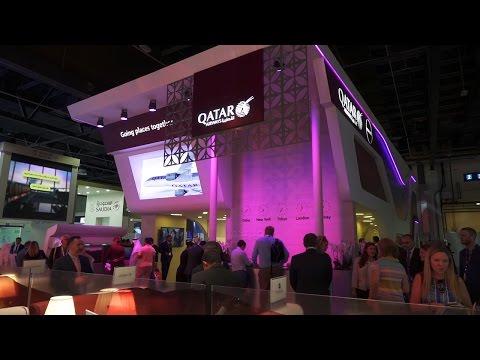 Qatar Airways at Arabian Travel Market 2016