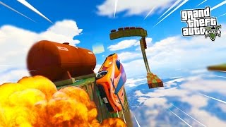 GTA 5 Online HOT WHEELS Special! INSANE GTA 5 Stunts, Jumps & More! (GTA 5 PS4 Gameplay)
