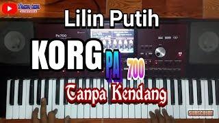 Download Lagu LILIN PUTIH Cover KORG PA 700 Full klasik Tanpa Kendang mp3