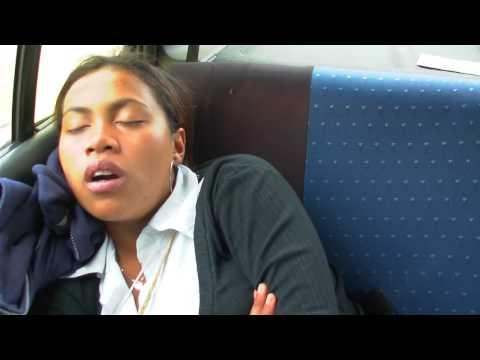 haingo sleep in car