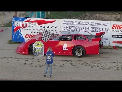 5. Late Model Heat Race #2 Crystal Motor Speedway, Michigan, 04-22-17