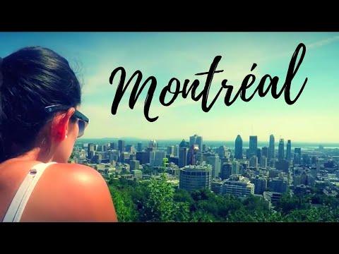 Des touristes découvrent Montréal