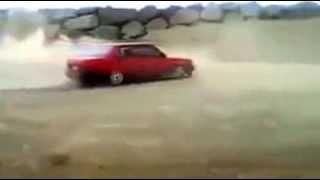 Şahinle drift yapan Kadın sürücü