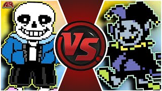 Санс VS Джевил. [АНДЕРТЕЙЛ/ДЕЛЬТАРУН]. Sans VS Jevil [UNDERTALE/DELTARUNE]