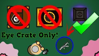 Surviv.io Eye Crate Only Challenge!! (Woods Mode Edition) + Nothing!