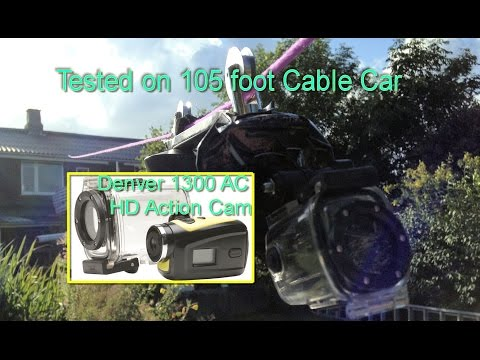 Denver 1300 AC on a RC and a Cable Car - 072