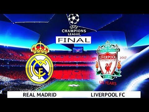 Final - UEFA Champions League 2018 - Real Madrid vs Liverpool - Kiev Stadium - Pes